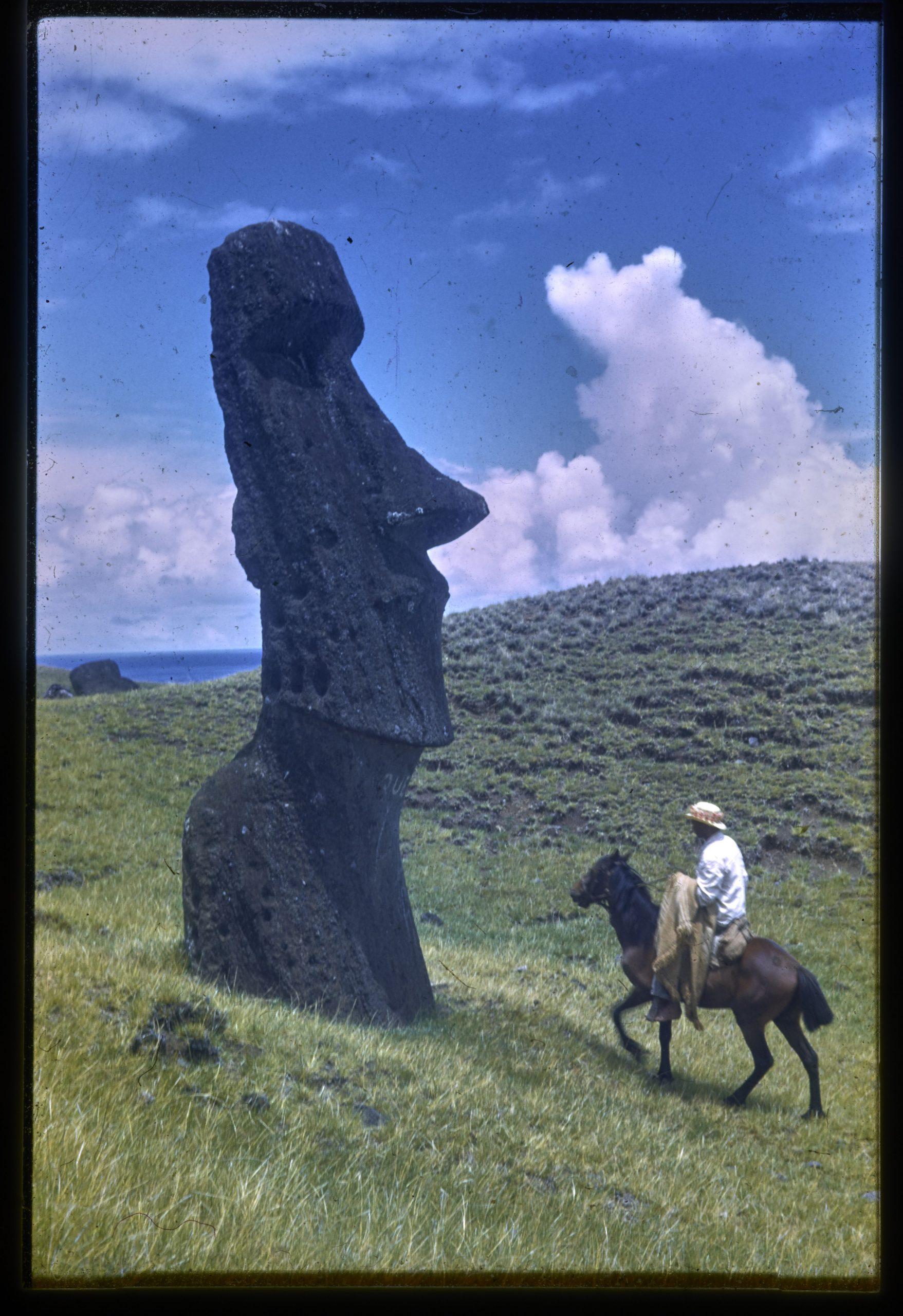 Fotografías inéditas de Rapa Nui: Hans Helfritz 1946
